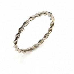 Ring Fairtrade Weissgold