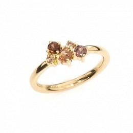 Verlobungsring Rosegold Spinelle